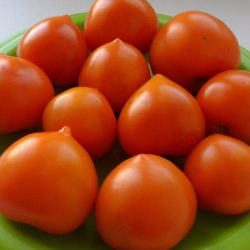 Томат Непасынкующийся оранжевый сердцевидный