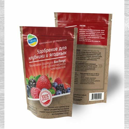 Удобрения Органик Микс для клубники и ягодных