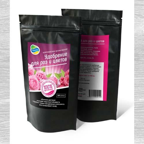Удобрения Органик Микс для роз и цветов