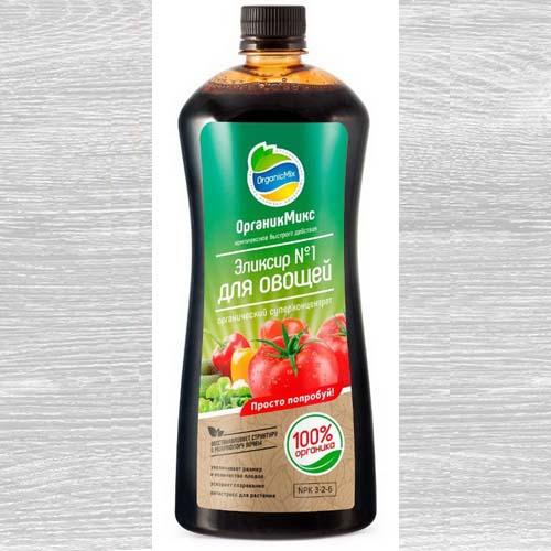 Удобрения Органик Микс Эликсир №1 для овощей