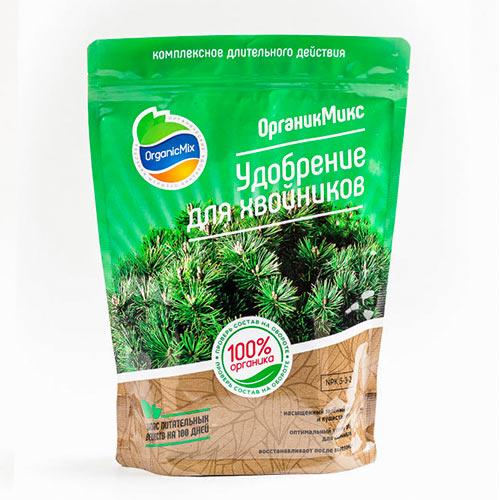 Удобрения Органик Микс для хвойников