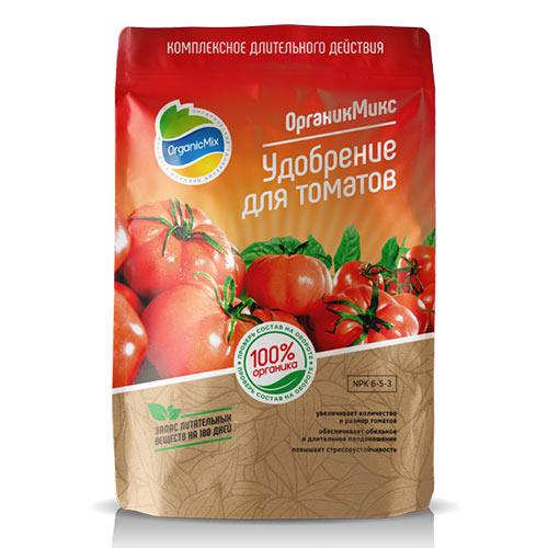 Удобрения Органик Микс для томатов